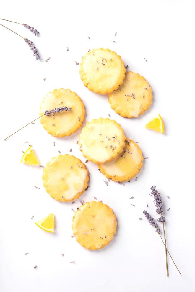 Лавандулови бисквити